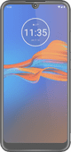 Azuri Motorola Moto E6 Plus Screen Protector Glass Black
