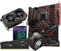 Intel Basic Upgrade Kit + Asus ROG Strix 1650 4G