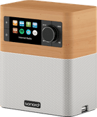 Sonoro Stream SO-410 V2 Esdoorn/Wit