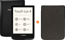 PocketBook Touch Lux 4 + PocketBook Hoes Zwart