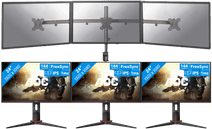 AOC 24G2U: Triple monitor setup