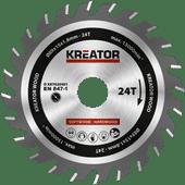 Kreator Zaagblad voor Hout 89x15x1.8mm 24T