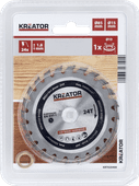 Kreator Saw Blade for Wood 85x15x1.8mm 24T