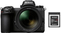 Nikon Z6 + Nikkor Z 24-70mm f/4 S + FTZ Adapter + 120GB XQD Memory Card