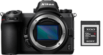 Nikon Z6 + FTZ Adapter + 120 GB XQD Geheugenkaart