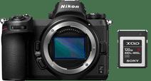 Nikon Z6 + 120 GB XQD Geheugenkaart