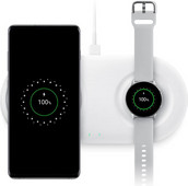 Samsung Draadloze Oplader DUO Pad 12W Wit