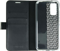 Valenta Classic Luxe Samsung Galaxy S20 Book Case Leather Black