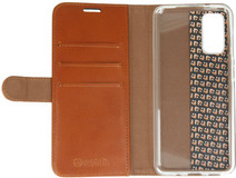 Valenta Classic LuxeSamsung Galaxy S20 Book Case Leather Brown