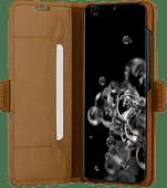 DBramante1928 Copenhagen Slim Samsung Galaxy S20 Ultra Book Case Leer Bruin