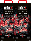 Weber Charcoal 10kg Duo Pack