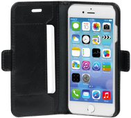 DBramante1928 Copenhagen Slim Apple iPhone SE 2 / 8 / 7 / 6s / 6 Book Case Leer Zwart