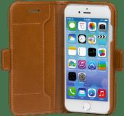 Dbramante1928 Copenhagen Slim Apple iPhone SE 2/8/7/6s/6 Book Case Leather Brown