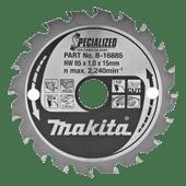 Makita Saw Blade Wood 85x15x1.0 20T