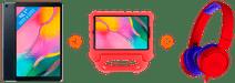 Samsung Galaxy Tab A 10.1 (2019) 32GB Wifi Kinderpakket Rood