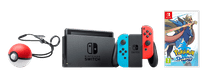 Nintendo Switch Rood/Blauw Pokémon Sword Bundel