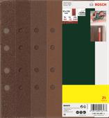 Bosch Schuurpapierset 93x230 mm K60, K80, K120, K240 (25x)