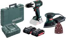 Metabo BS 18 LT 2,0Ah + FMS 200 Intec + Schuurpapierset