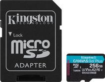 Kingston microSDXC Canvas Go Plus 256GB