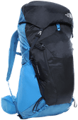 The North Face Banchee 50L Clear Lake Blue/Urban Navy - Large Fit