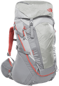 The North Face Womens Terra 55L High Rise Grey/Mid Grey - Slim Fit