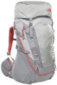 The North Face Womens Terra 55L High Rise Grey/Mid Grey