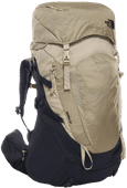 The North Face Womens Terra 55L Urban Navy/Twill Beige - Slim Fit
