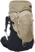 The North Face Womens Terra 55L Urban Navy/Twill Beige