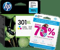 HP 301 Ink Cartridge Tri-colour XL (CH564EE)