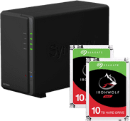 Synology DS218play + 20TB