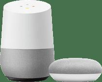 Google Home + Google Nest Mini White