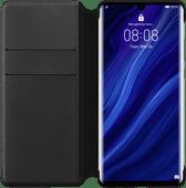 Huawei P30 Pro Flip Cover Book Case Black
