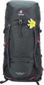 Deuter Aircontact Lite 45L + 10L Graphite/Black - Slim Fit