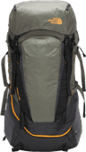 The North Face Terra 55L TNF Dark Gray Heather / New Taupe - Large Fit