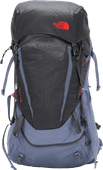 The North Face Terra 55L Grisaille Grey/Asphalt Grey - Slim Fit