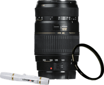 Tamron AF 70-300mm f/4.0-5.6 Di LD Canon EF + UV-Filter 62mm + Elite Lenspen