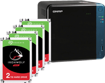 QNAP TS-453Be-4G + 4x 2TB