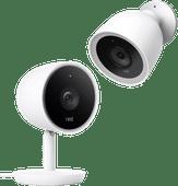 Google Nest Cam IQ Outdoor + Google Nest Cam IQ Indoor