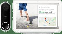Google Nest Hello + Google Nest Hub Chalk