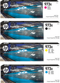 HP 973X Cartridges Combo Pack