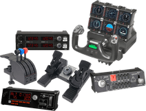 Flight simulatorpakket - Saitek Pro Flight Yoke System
