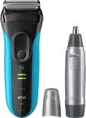 Braun 3040 Wet & Dry + Braun EN10 nose trimmer