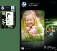 HP 303 4-kleuren + fotopapier