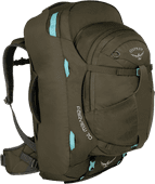 Osprey Fairview 70L Misty Gray - Slim Fit