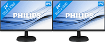 Philips 243V7QDAB Duo Setup