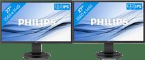 Philips 272B8QJEB/00 Duo Setup