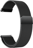 Just in Case Samsung Galaxy Watch Active Mesh Bandje Zwart 20 mm