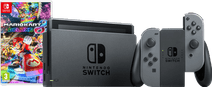 Nintendo Switch (2019 Upgrade) Grijs Mario Kart Bundel