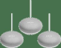 Google Nest Mini Wit 3-Pack