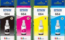 Epson T664 Inktflesjes Combo Pack